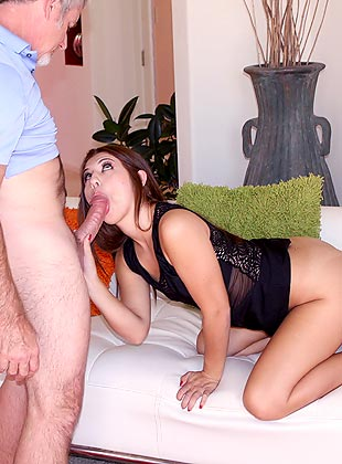Brunette slut gabriella romano with bbc 3