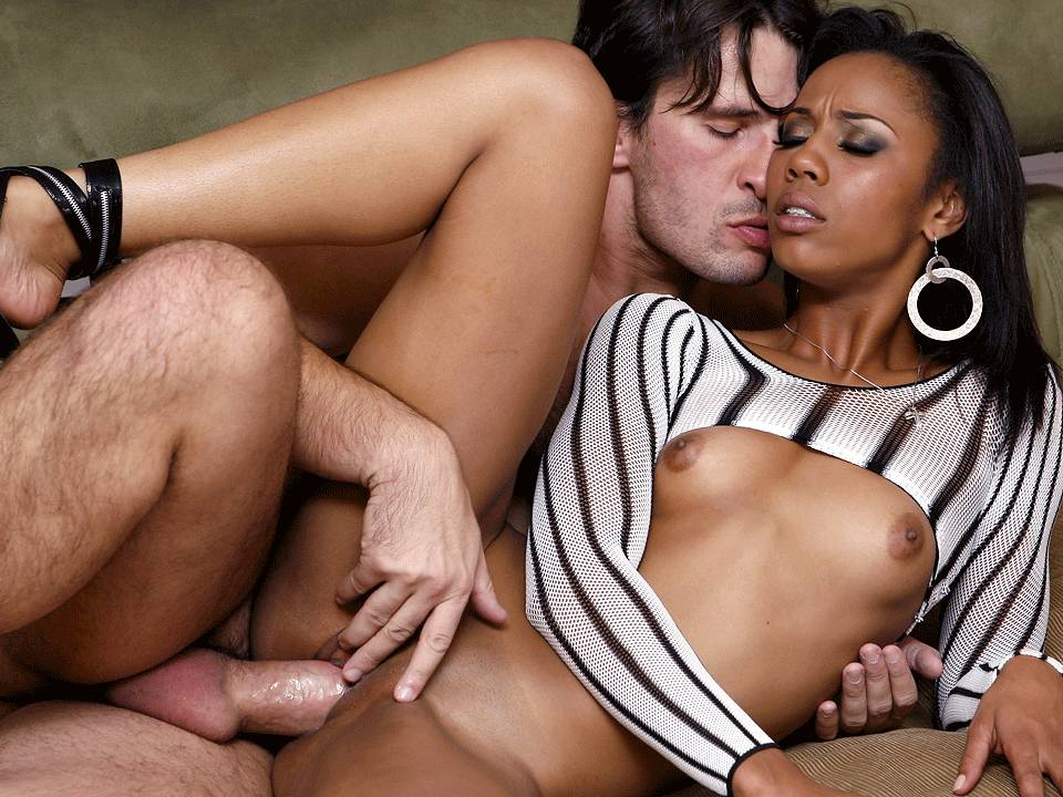 Vivienne la roche black threesome 1