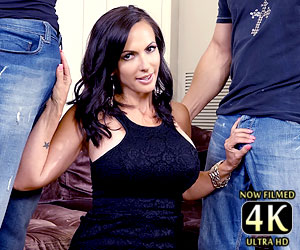 Catalina Cruz blowbang video for the first time 4k