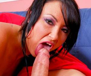 Bianca Dagger big dick blowjob time