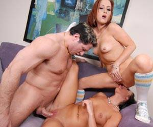 Deena Daniels threesome with Cameron Love