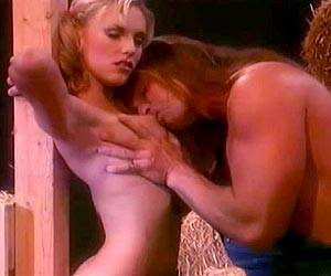 Jodi Roxxx face fucked hard in a barn