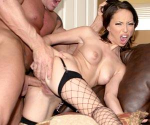 Veronica Jett anal sex ass to mouth party