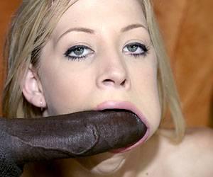 Leah Luv pov black cock face fucking