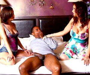Jada Stevens gets caught with a black guy