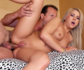 Zorah White anal sex fucking from George Uhl's big dick