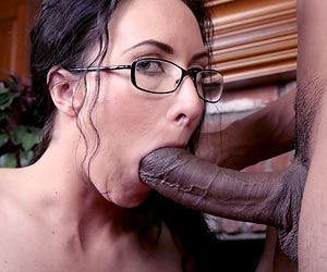 Katrina Isis big black cock blowjob Justin Long pov