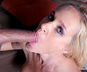 Totally Tabitha gets done fucking and then swallows a hot load of cum