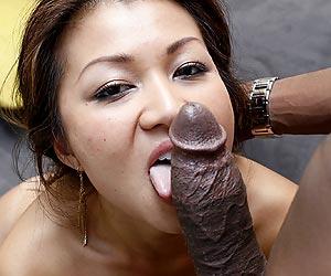 Jackie Lin interracial pov blowjob and face fucking by Jon Jon