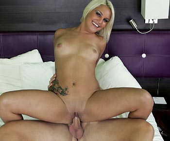 Mickenzie Moore totally naked and fucking a lucky dick