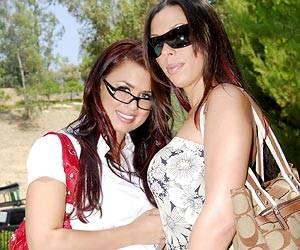 Rachel Starr, Eva Angelina big cock BJ