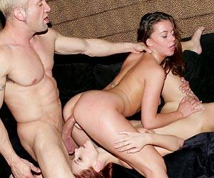 Dani Woodward threesome with Penny Flame