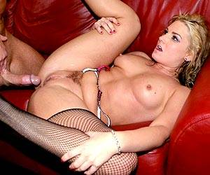 Flower Tucci getting her shaved pussy fucked
