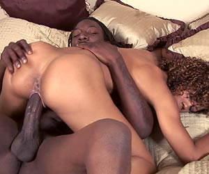 Misty Stone fucked in bed with a huge black dick