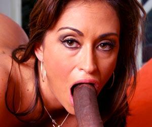 Milfs like Claudia Valentine love big black dicks pov